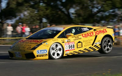 Gallardo in flight