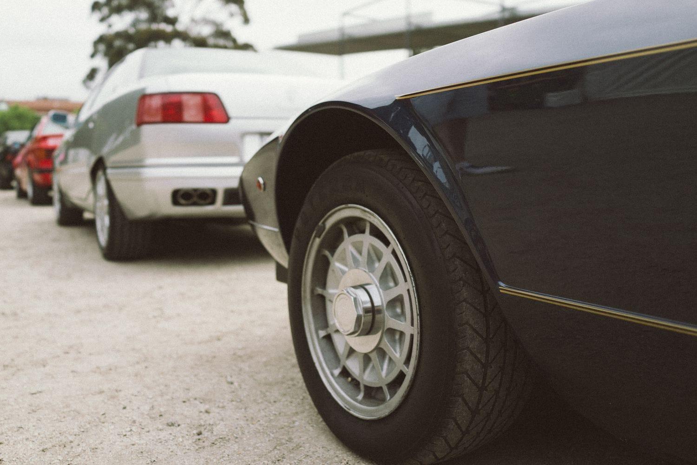 Maserati Khamsin and Quattroporte IV/AM337