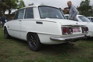 Isuzu Bellett two-door sedan