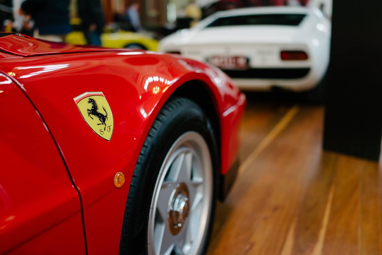 Ferrari Testarossa and Lamborghini Muira