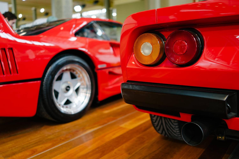 Ferrari 288 GTO and F40