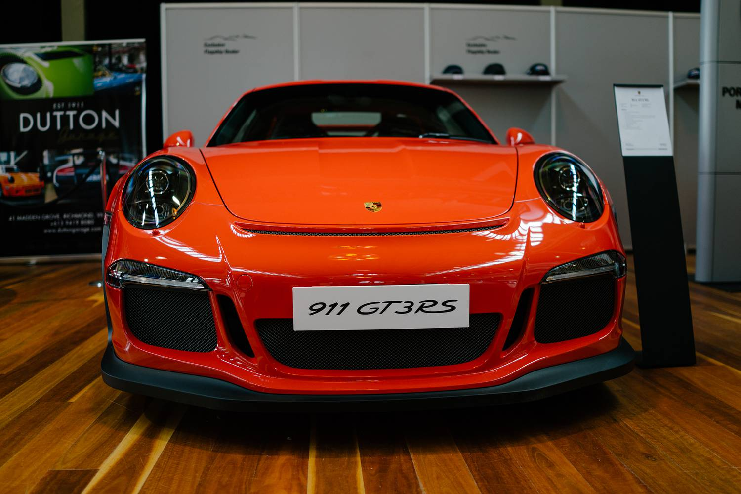 Lava Orange Porsche 991 GT3 RS