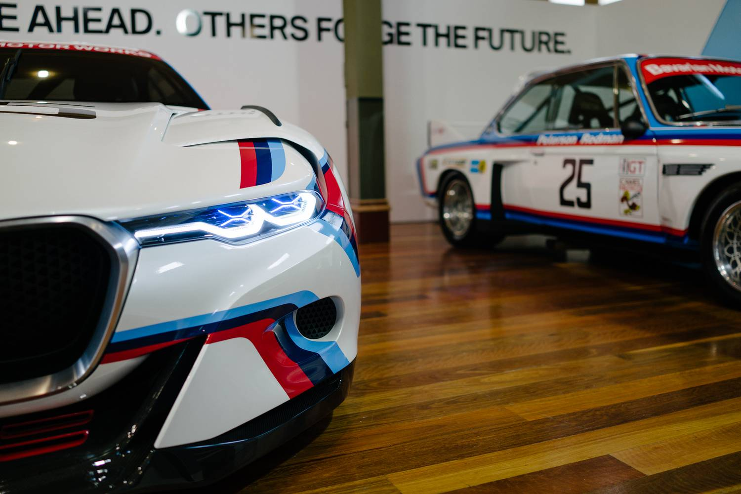 BMW 3.0 CSL Hommage Concept and E9 3.0 CSL