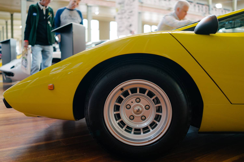 Lamborghini LP400 - Front